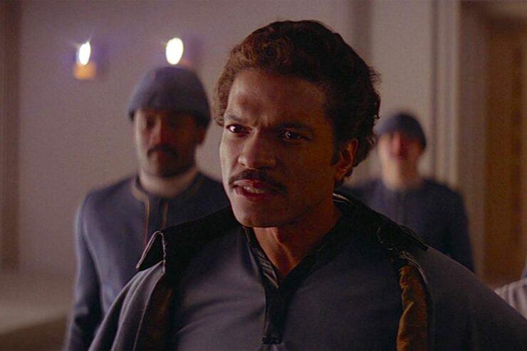 Lando Calrissian (Billy Dee Williams) in Star Wars Episode V: The Empire Strikes Back