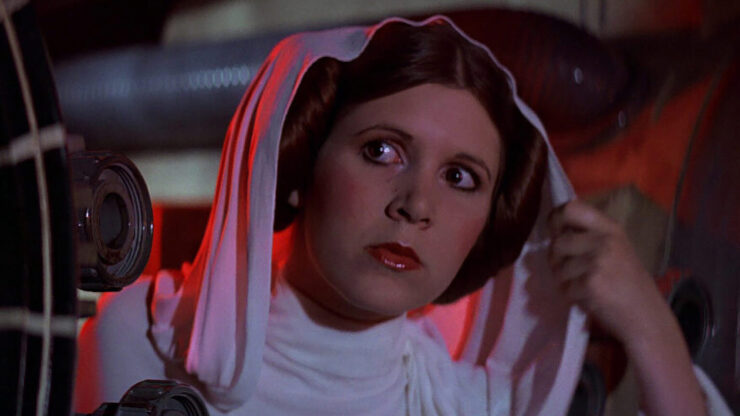 Leia Organa in Star Wars Episode IV A New Hope