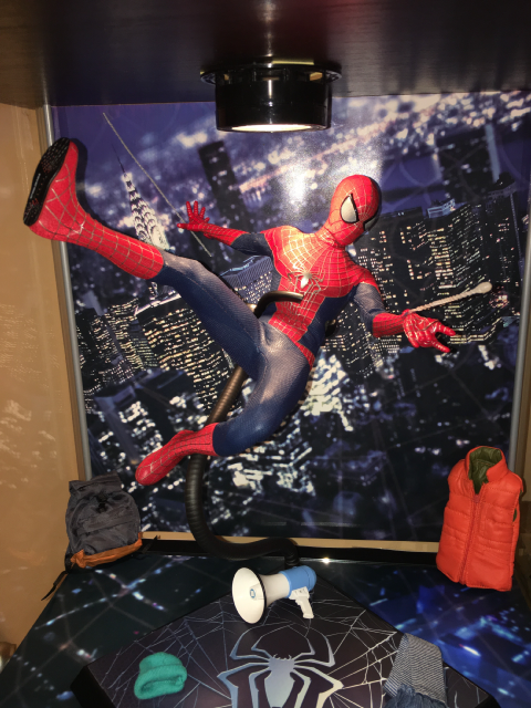 Spider-Man Figures Collection Display