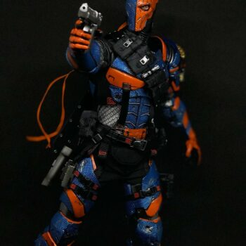 Deathstroke Sixth Scale Figure in front of black background