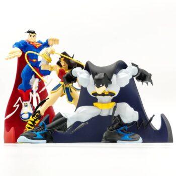 Batman Wonder Woman and Superman Designer Collectible Toys