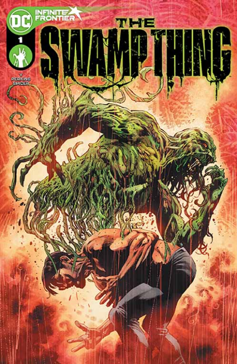 Levi Kamei inherits the mantle of Swamp Thing, but the powers of The Green are more volatile than ever