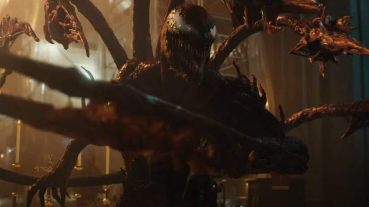 Venom: Let There Be Carnage Still of Symbiote Carnage