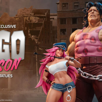 Mad Gear Exclusive Hugo and Poison Statue – PCS