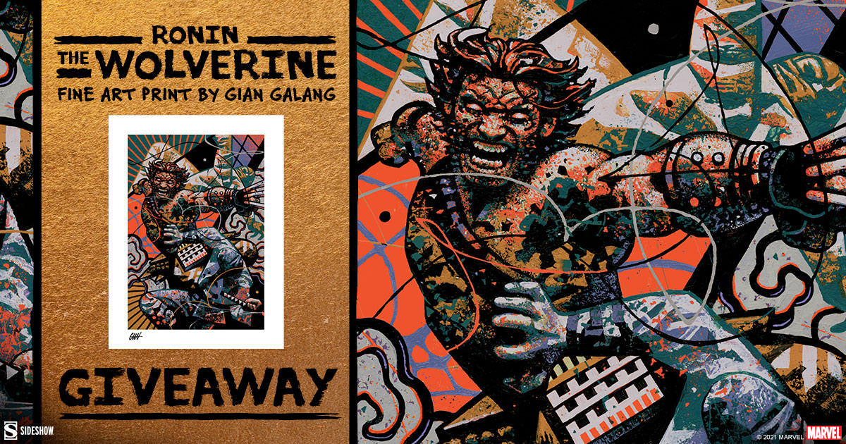 Ronin: The Wolverine Fine Art Print Giveaway