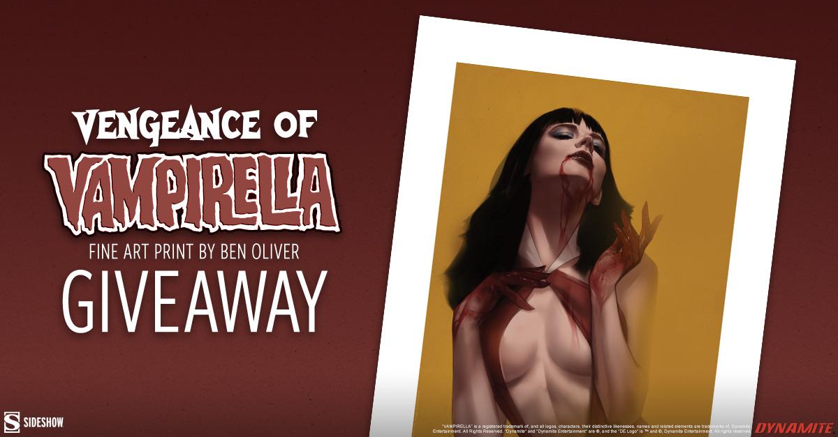 Vengeance of Vampirella Fine Art Print Giveaway