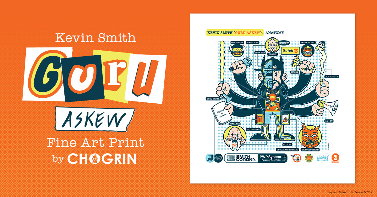 Kevin Smith Guru Askew Fine Art Print Giveaway