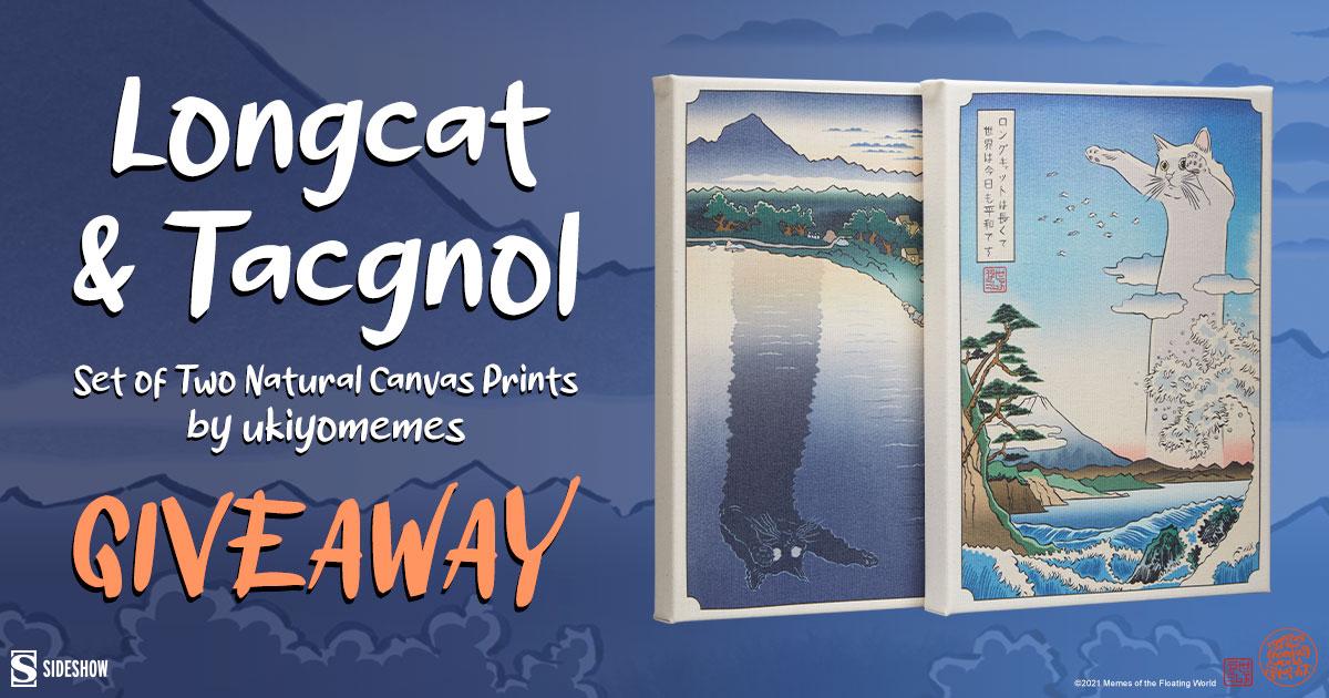 Longcat & Tacgnol Fine Art Print Set Giveaway