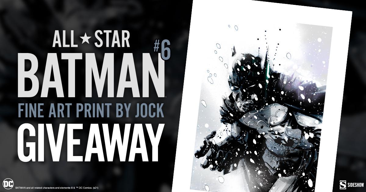 All Star Batman #6 Fine Art Print Giveaway