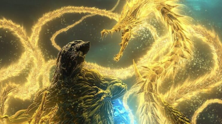 Godzilla's popularity even extends to the world of anime, such as Godzilla: The Planet Eater (2018)