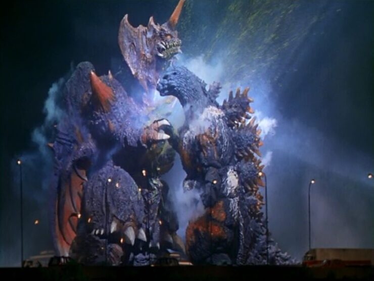 The battle between Godzilla and Destoroyah is among the goriest and most intense kaiju showdowns
