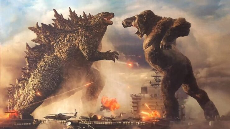 In one of the most epic kaiju showdowns of cinematic history, King Kong and Godzilla faced off in 2021
