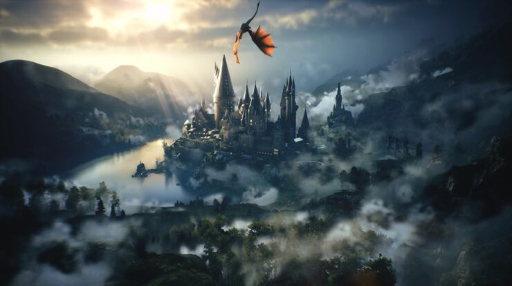 Players of the Hogwarts Legacy video game explore a 19th-century version of the wizarding world