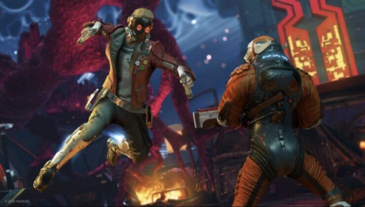 Players of Marvel's Guardians of the Galaxy video game save the galaxy once again with Star-Lord's ragtag crew