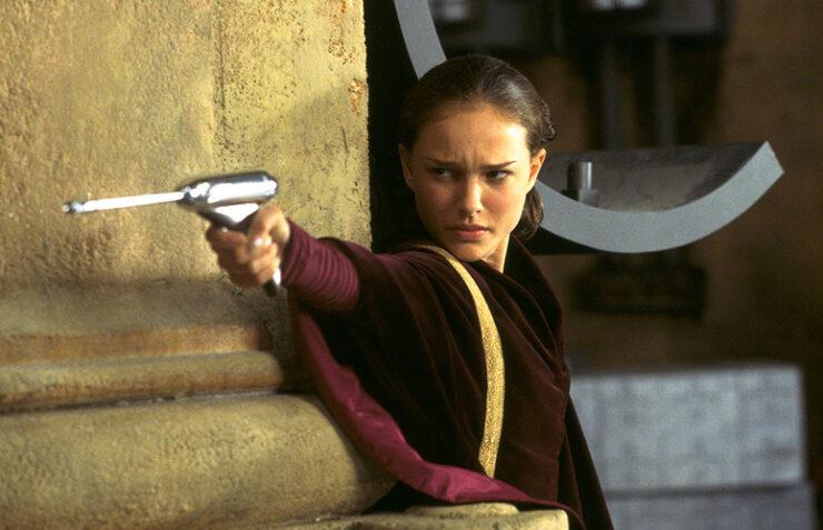 Padme in Star Wars The Phantom Menace
