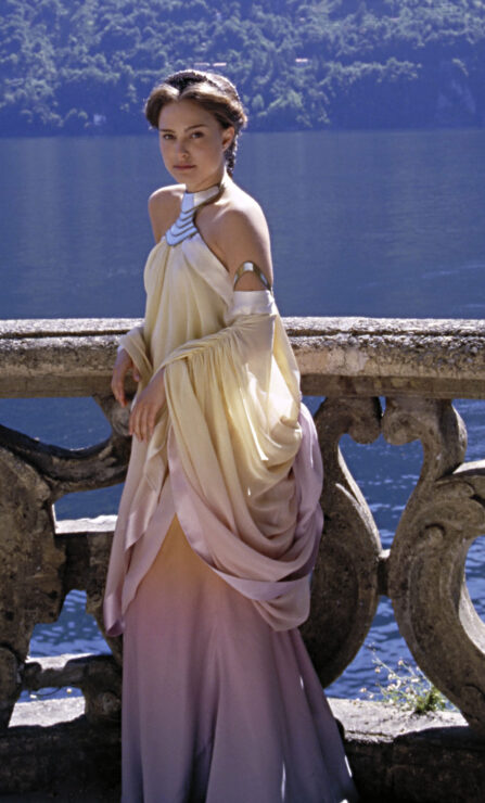 Padme in Star Wars Attack of the Clones