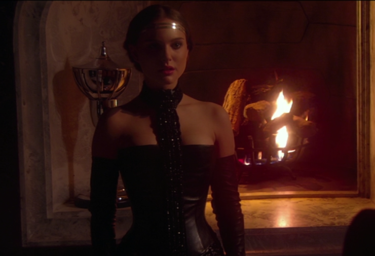 Padme in Attack of the Clones