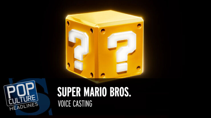 Pop Culture Headlines – Mario Casting