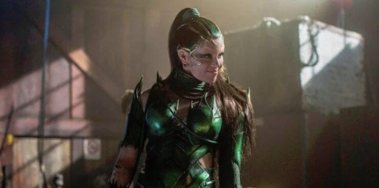 Rita Repulsa as she appears in the 2017 Power Rangers film
