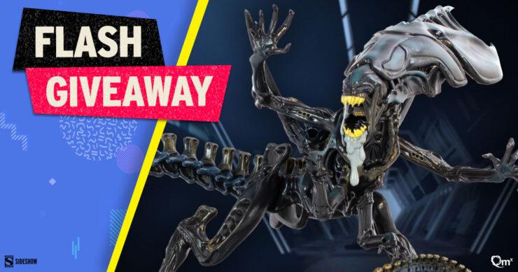 Sideshow Fandom Rewind Flash Giveaway - Alien Queen Q-Fig Max Elite by Quantum Mechanix
