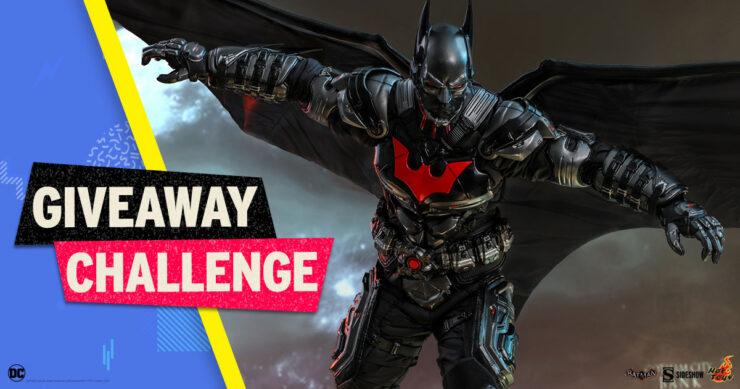 Sideshow Fandom Rewind Giveaway Challenge - Batman Beyond Sixth Scale Figure by Hot Toys
