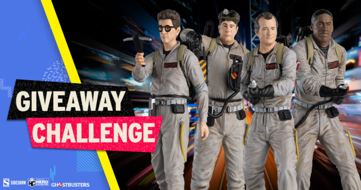 Sideshow Fandom Rewind Giveaway Challenge - Ghostbusters Collectible Set by Eaglemoss