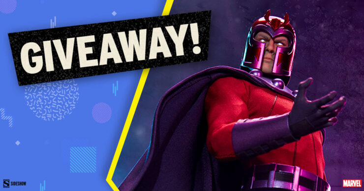 Sideshow Fandom Rewind Grand Prize Giveaway - Magneto Sixth Scale Figure (Exclusive Edition) by Sideshow