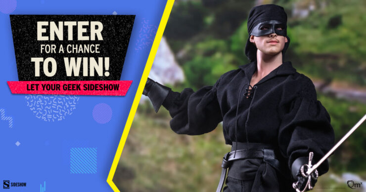 Sideshow Fandom Rewind Let Your Geek Sideshow Facebook Group Giveaway - Westley aka The Dread Pirate Roberts Sixth Scale Figure by Quantum Mechanix