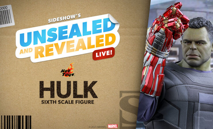 Up Next on Unsealed and Revealed: Hulk Sixth Scale Figure by Hot Toys