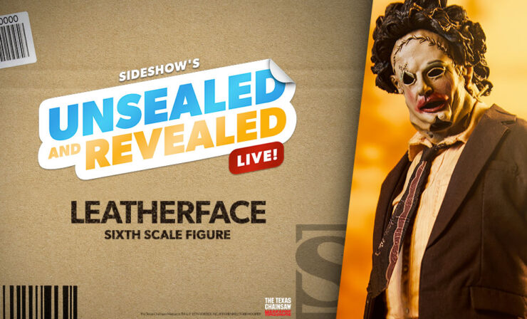 Up Next on Unsealed and Revealed: Leatherface by Sideshow