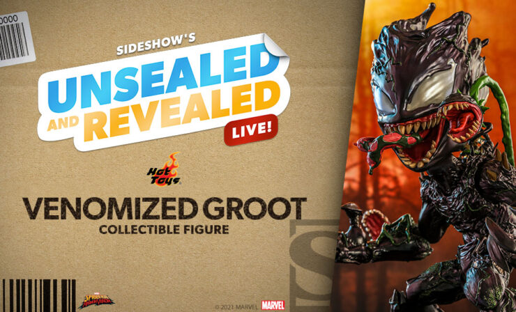 Up Next on Unsealed and Revealed: Venomized Groot Collectible Figure by Hot Toys