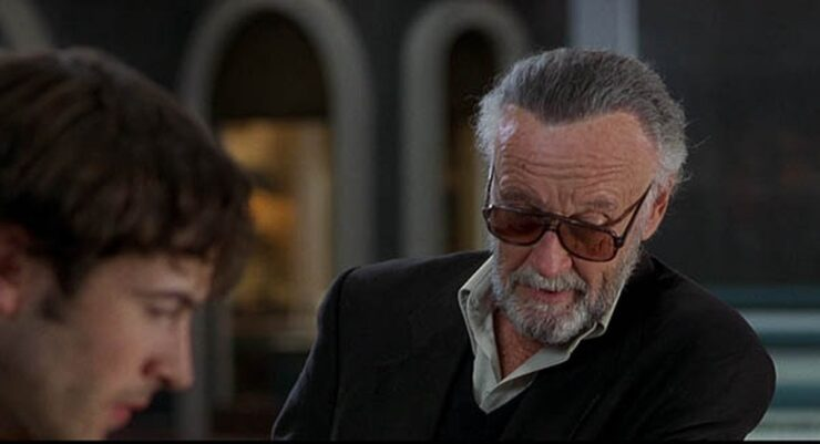 Stan Lee and Brodie in Mallrats