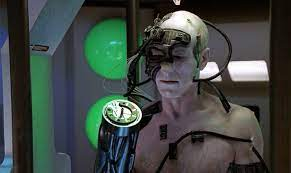 Captain Picard is captured by the Borg and assimilated into Locutus in Star Trek: The Next Generation