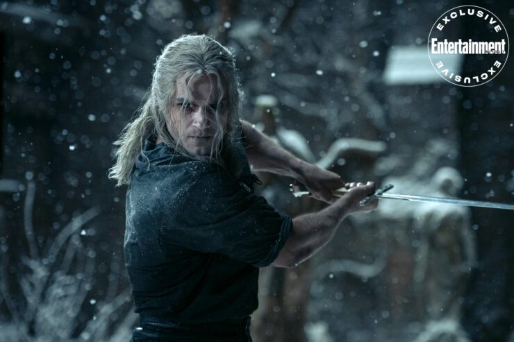 The Witcher Training in Snow