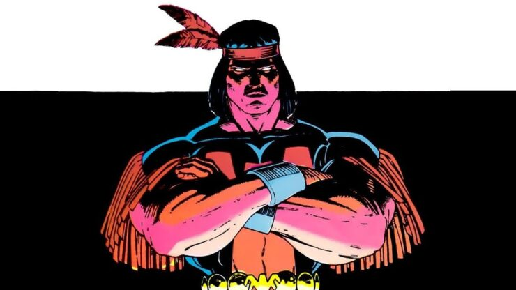 Thunderbird, AKA John Proudstar, is an Apache mutant whose pride led to a death before his time