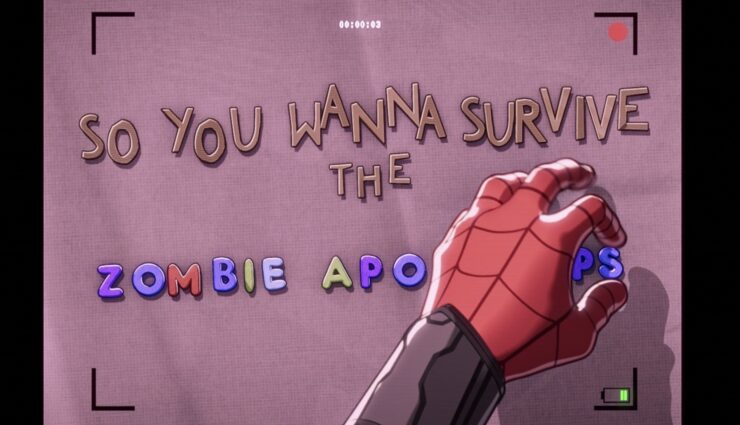 In episode 5 of Marvel's What If...?, Peter Parker creates a zombie survival guide orientation video