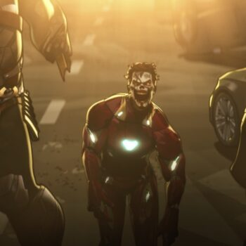In episode 5 of Marvel's What If...?, Iron Man falls victim to the zombie virus outbreak