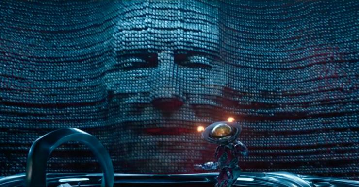Zordon as he appears in the Power Rangers 2017 film