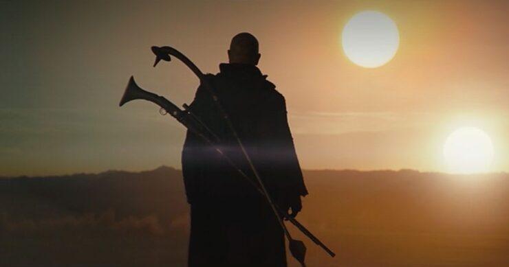 Boba Fett on Tatooine in The Mandalorian