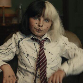 Estella in trouble at school in Cruella