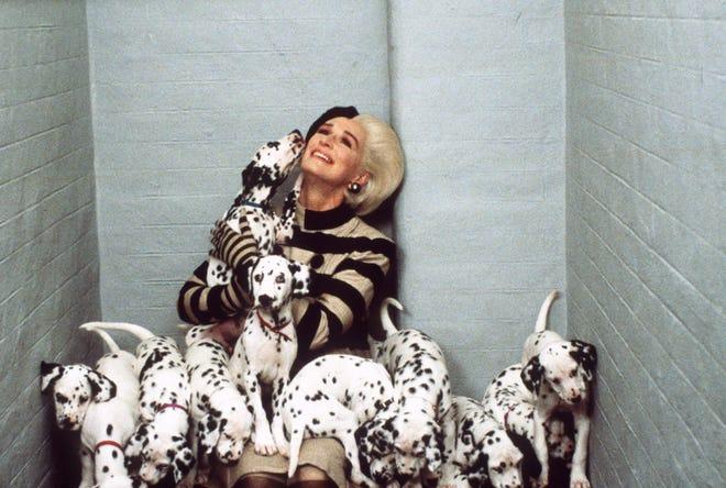 Cruella imprisoned in 102 Dalmatians