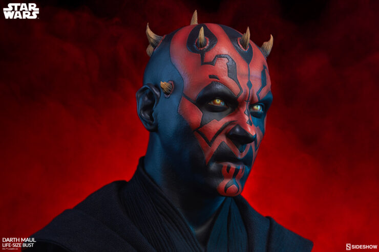 Darth Maul Life-Size Bust by Sideshow