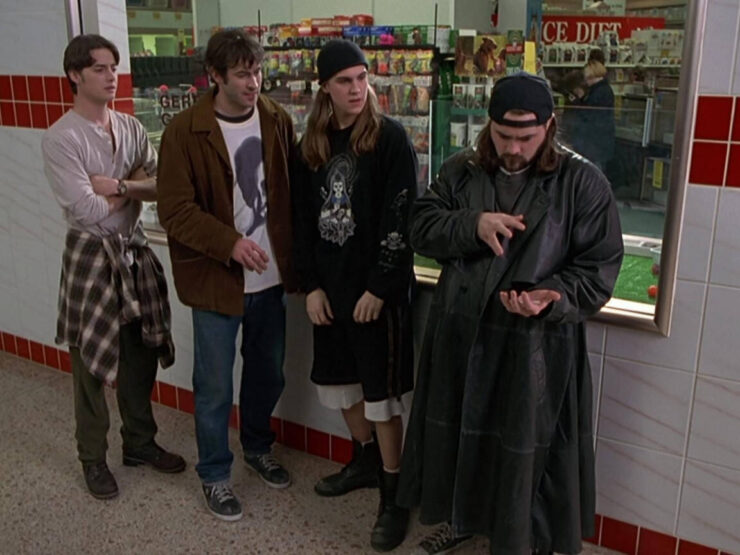 Brodie, T.S., Jay and Silent Bob in Mallrats