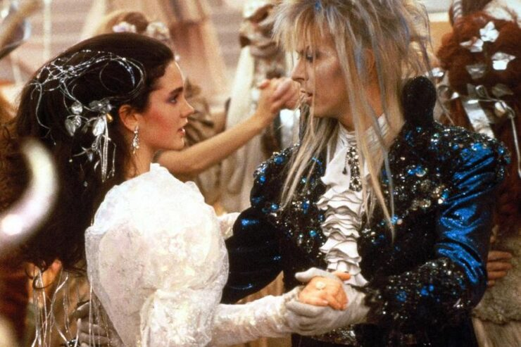 Sarah and The Goblin King dance in Labyrinth