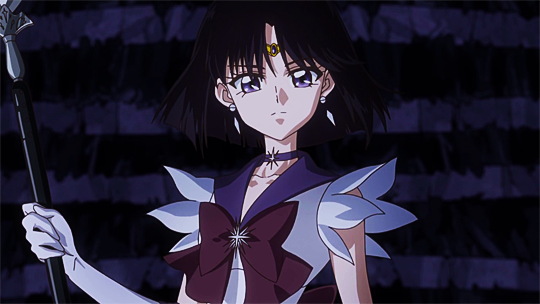 Hotaru Tomoe / Sailor Saturn in the Sailor Moon anime