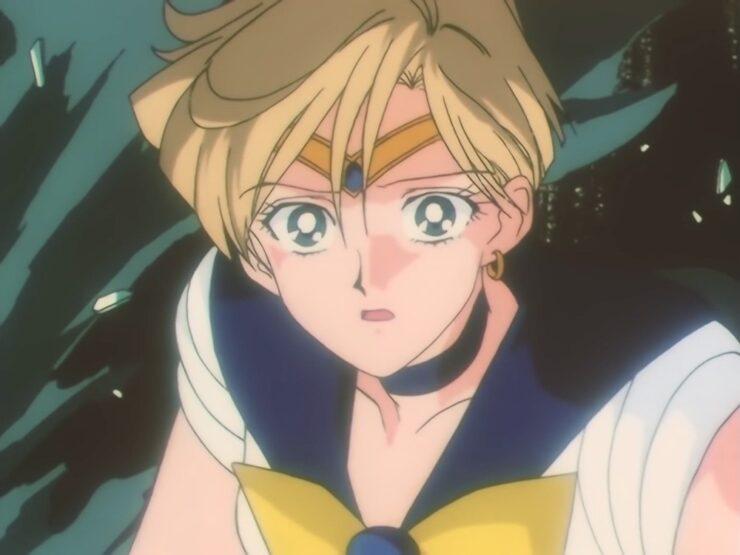 Haruka Tenou / Sailor Uranus in the Sailor Moon anime