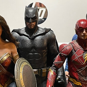 The Justice League collectibles