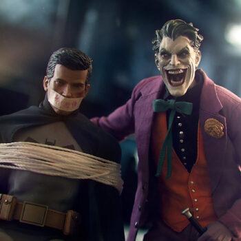 The Joker and captive Bruce Wayne collectibles