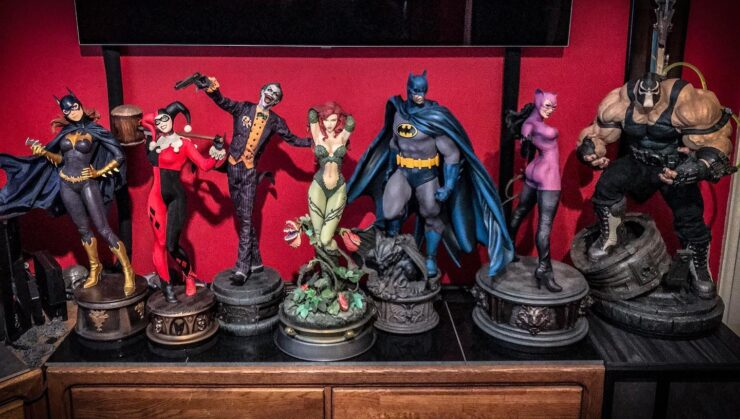 Gotham Figures Collection Display
