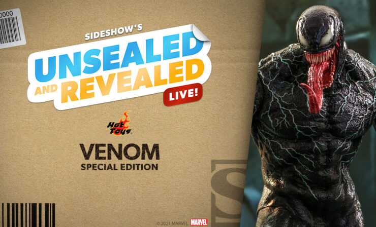 Up Next on Unsealed and Revealed: Venom (Special Edition) Sixth Scale Figure by Hot Toys